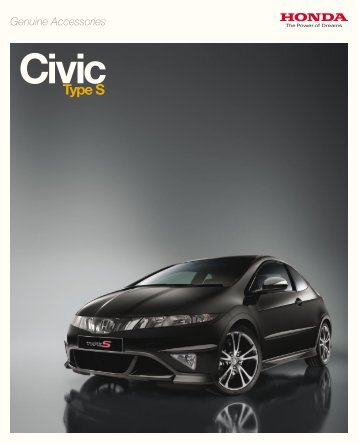 Type S - Honda Accessories Car and Motorcycle