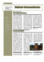 6. Ausgabe - Oase der Vier Palmen