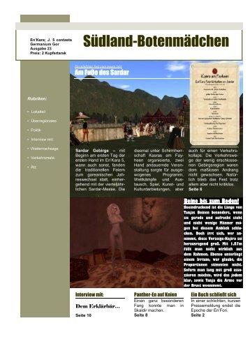 23. Ausgabe - Oase der Vier Palmen