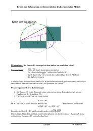 Das Dreieck AHD ist ähnlich zum Dreieck AES - hs-euklid.de