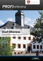 Stadt Meerane - PROFI  Engineering Systems AG