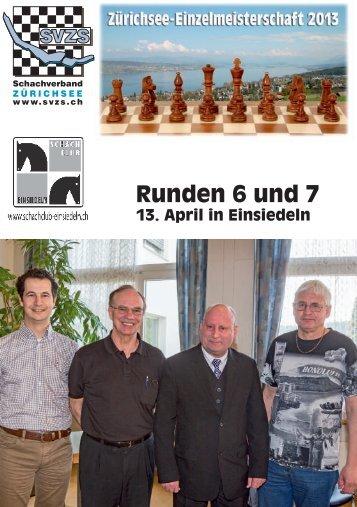 Bulletin 6+7 - SchachVerband ZürichSee