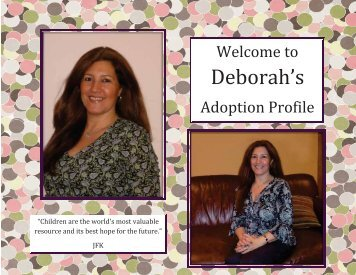 Deborah's - The Adoption Alliance
