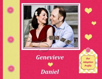 Daniel and Genevieve - The Adoption Alliance