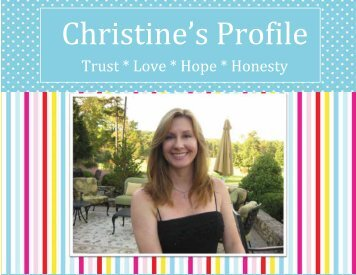 Trust * Love * Hope * Honesty - The Adoption Alliance
