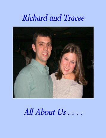Richard and Tracee All About Us . . . . - The Adoption Alliance