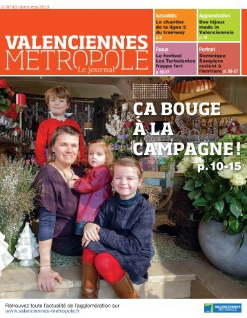 le journal 43 - Valenciennes Métropole
