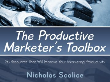 The-Productive-Marketers-Toolbox