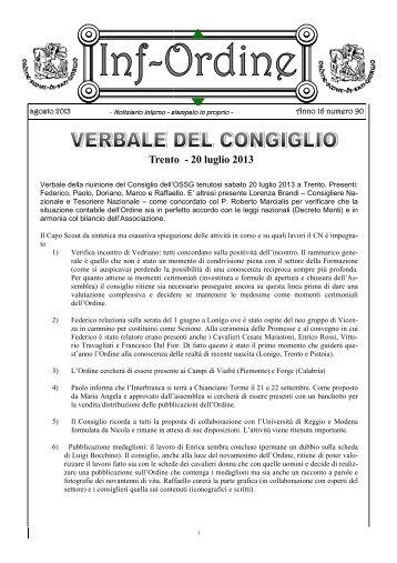 Trento - 20 luglio 2013 - Ordine Scout di San Giorgio - Cngei