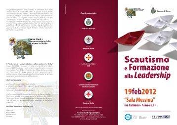 il pieghevole - Ordine Scout di San Giorgio - Cngei