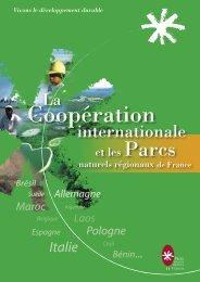 La coopération internationale et les Parcs naturels régionaux