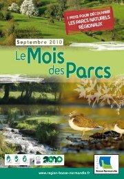 Mois des Parcs - Fédération des parcs naturels régionaux de France