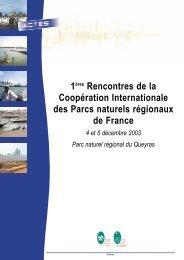 Actes des rencontres sur la coopération Internationale