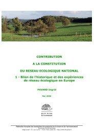 Rapport FNE partie 1 - Fédération des parcs naturels régionaux de ...