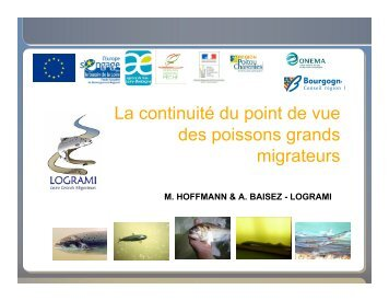 Présentation Suivi biologique poissons migrateurs - LOGRAMI