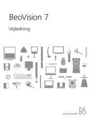 BeoVision 7 - BeoForum.dk