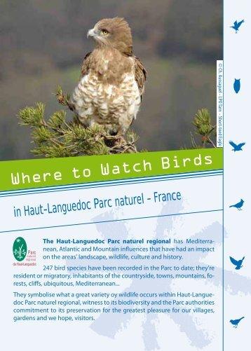 Where to watch birds in Haut Languedoc - Fédération des Parcs ...