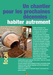 """""""Habiter autrement"""" - Revue des Parcs - Fédération des parcs ..."""