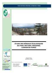 étude des réseaux écologiques du parc naturel régional livradois ...