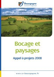Appel à projet Bocage et paysage 2008 - Fédération des Parcs ...