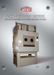 Milnor Pass-Through Dryers Brochure - Steiner-Atlantic