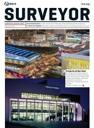 London and South East Summer edition of Surveyor magazine