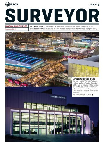 London and South East Summer edition of Surveyor magazine