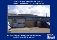 2 Freehold Industrial Investments for Sale UNIT 3 - Stiles Harold ...