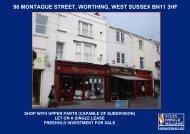 96 montague street, worthing, west sussex bn11 3hf - Stiles Harold ...