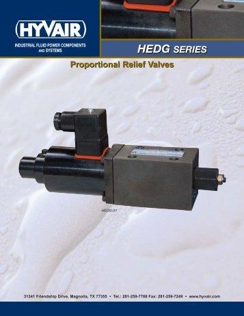HEDG Proportional Valves - Hyvair