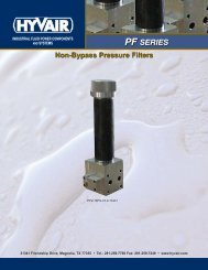 Non Bypass Pressure Filters - Hyvair