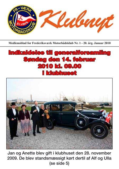 Klubbladet Januar 2010 - Frederiksværks Motorbådsklub
