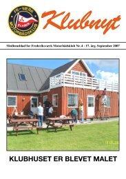 Klubbladet fra september 2007 - Frederiksværks Motorbådsklub