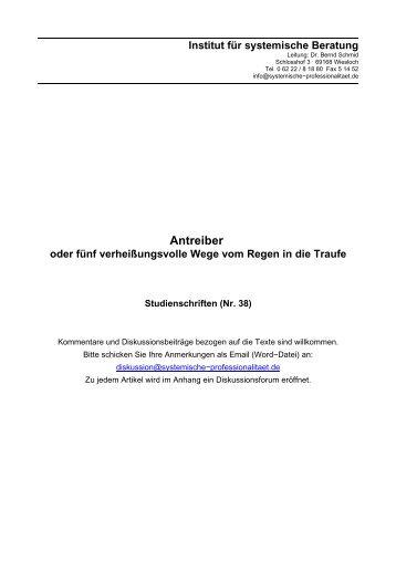 Antreiber - Horst Bertsch