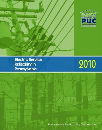 Reliability Report -- 1999 - Pennsylvania Public Utility Commission