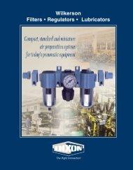Dixon / Wilkerson Air Filter / Regulator / Lubricator Catalog