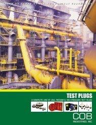 Pipe Plugs - COB Industries, Inc.