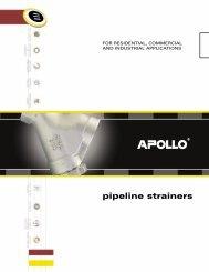 Apollo Pipeline Strainer Catalog - Bay Port Valve & Fitting