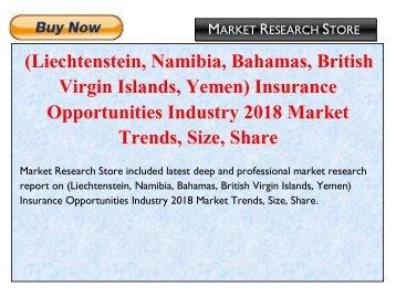 Liechtenstein, Namibia, Bahamas, British Virgin Islands, Yemen Insurance Opportunities Industry 2018 Market Trends, Size, Share