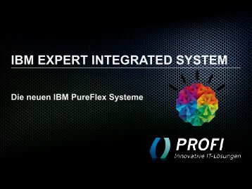 expert integrated systems - PROFI Engineering Systems AG