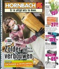 Hornbach folder 29 juni t/m 1 augustus 2015