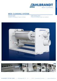 WEB CLEANING SYSTEM - Ahlbrandt System GmbH
