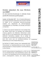 Henskes präsentiert: Die neue F5D-Serie von ... - Profil Marketing