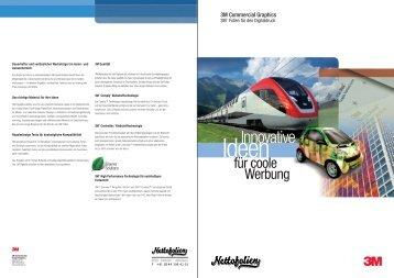 3M Digitaldruck-Folien und Laminat Uebersicht - Nettofolien