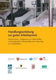 Handlungsanleitung zur guten Arbeitspraxis: Textilrecycling ...