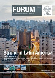 Strong in Latin America - Wirtgen Group