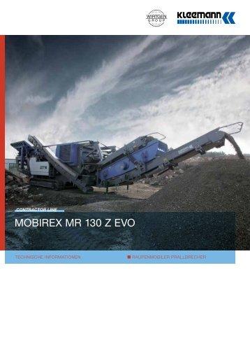MOBIREX MR 130 Z EVO - Kleemann
