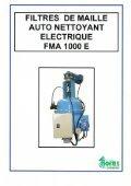 Filtres à tamis autonettoyant FMA1000 - Horus Environnement - Page 7