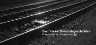 Saarbrücker Bahnhofsgeschichten - KuBa - Kulturzentrum am ...