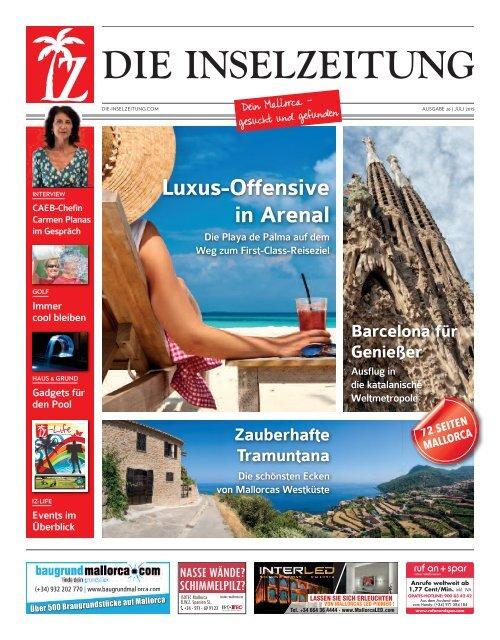 Die inselzeitung mallorca juli 2015